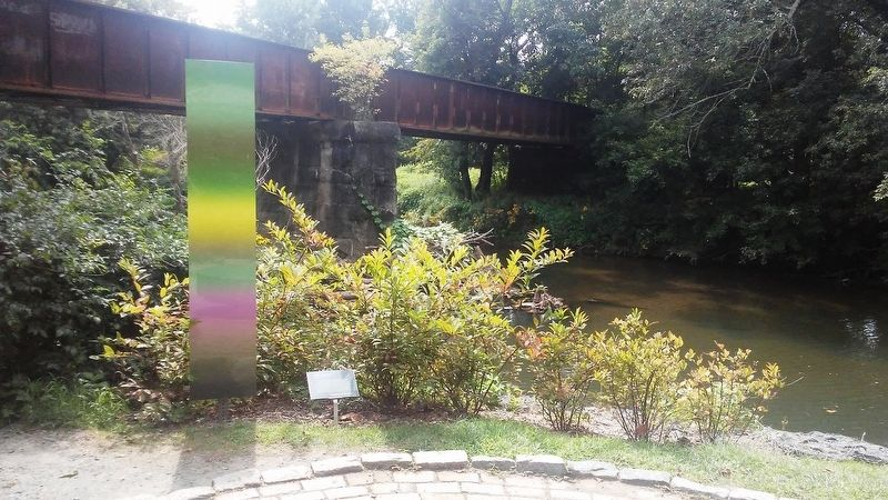 <i>Gradient (River Walk)</i>, 2015 and Marker image. Click for full size.
