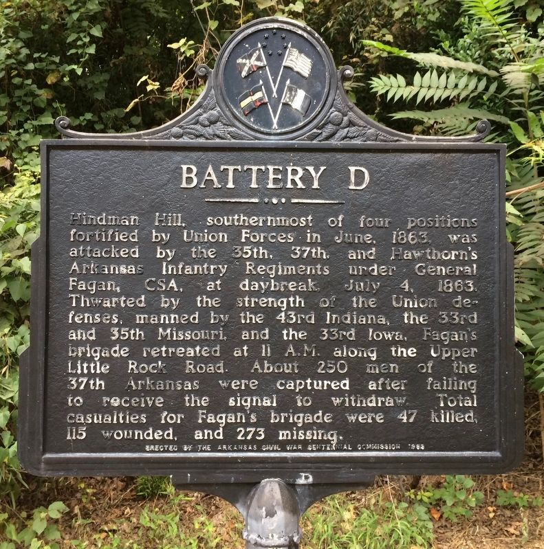 Battery D Marker image. Click for full size.