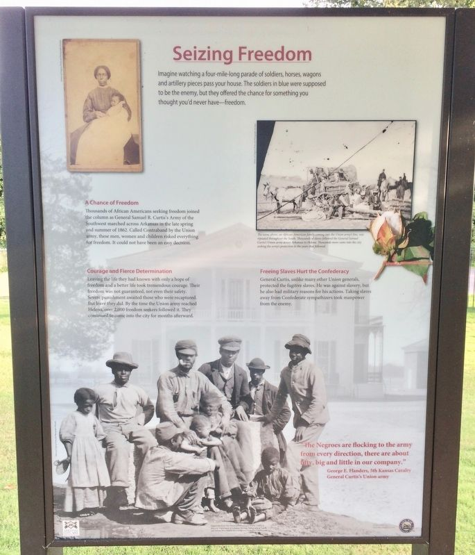 Seizing Freedom Marker image. Click for full size.
