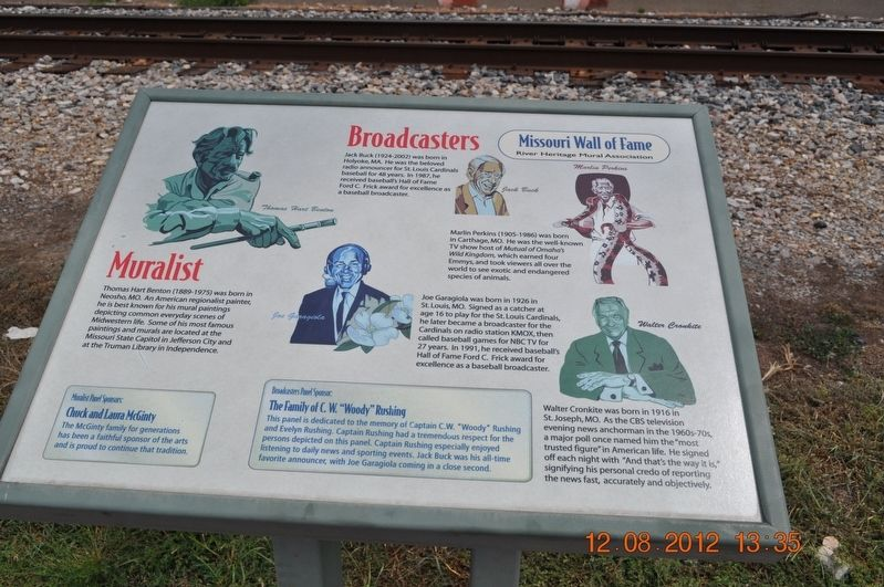 Muralist/Broadcasters Marker image. Click for full size.