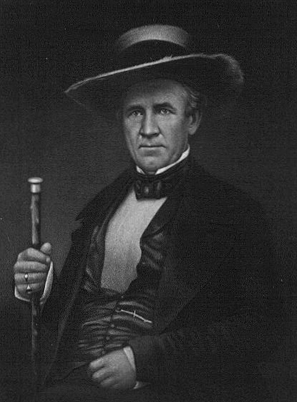Sam Houston (1793–1863) image. Click for full size.