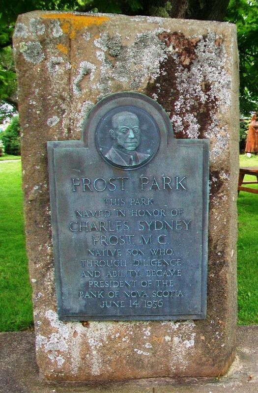 Frost Park Monument image. Click for full size.