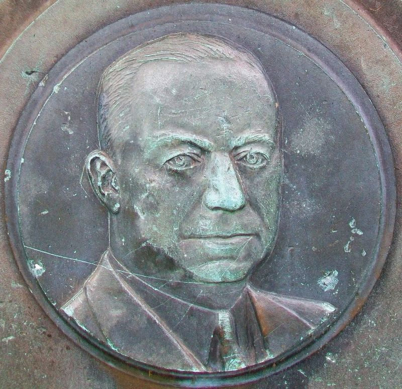 Charles Sydney Frost Relief on Marker image. Click for full size.