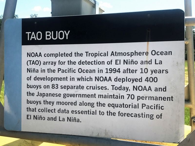 TAO Buoy Marker image. Click for full size.