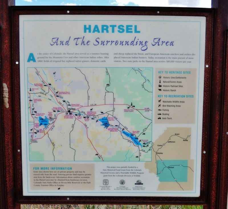 Hartsel Marker image. Click for full size.