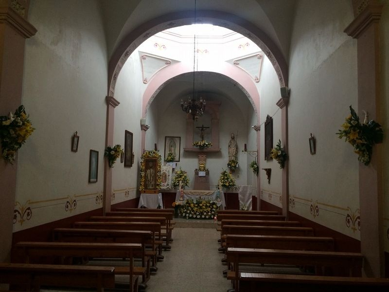 The interior of the 18th century Chapel of Saint Gregory image. Click for full size.