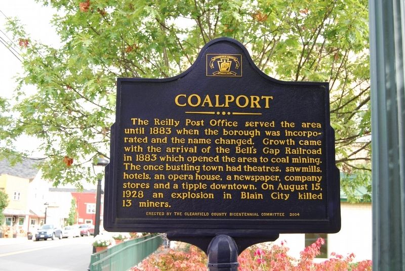 Coalport Marker image. Click for full size.