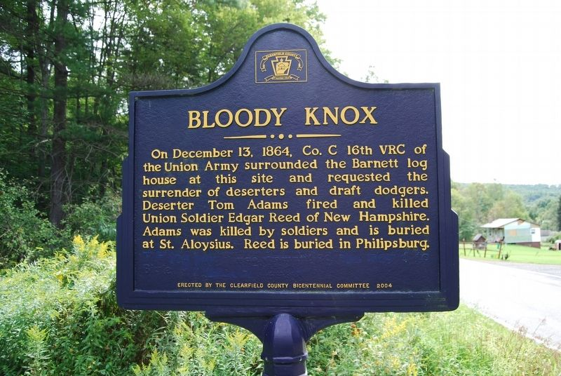 Bloody Knox Marker image. Click for full size.