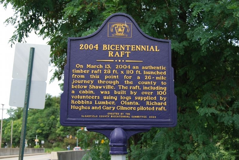 2004 Bicentennial Raft Marker image. Click for full size.