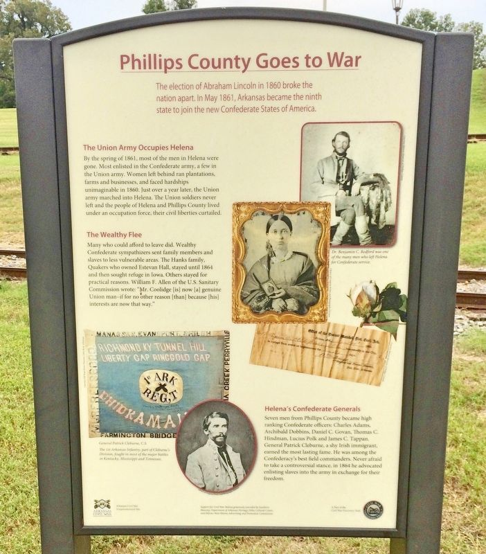 Phillips County Goes to War Marker image. Click for full size.