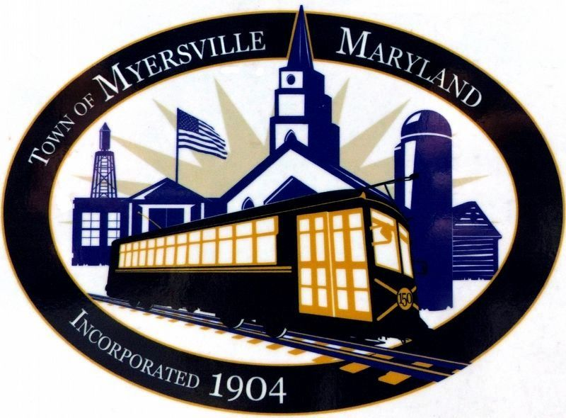 Town of Myersville Maryland<br>Incorporated 1904 image. Click for full size.