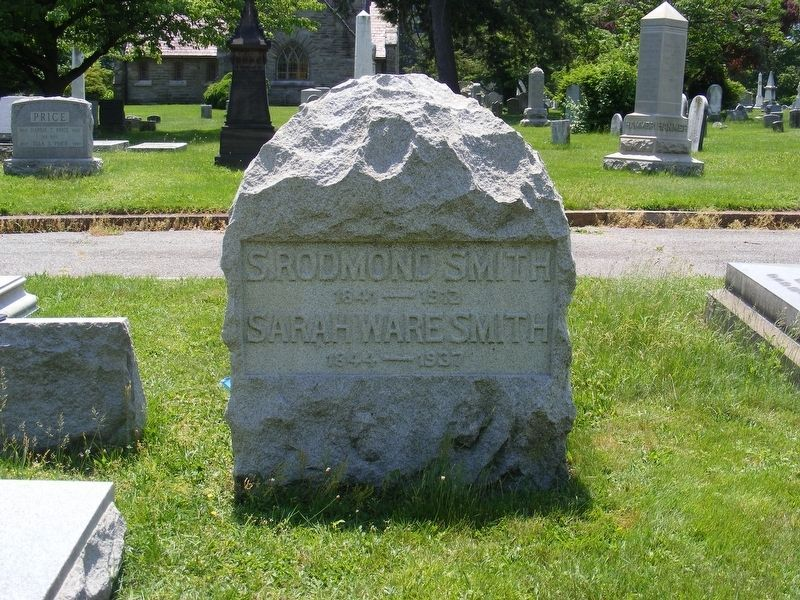 Samuel Rodmond Smith Marker-Front image. Click for full size.