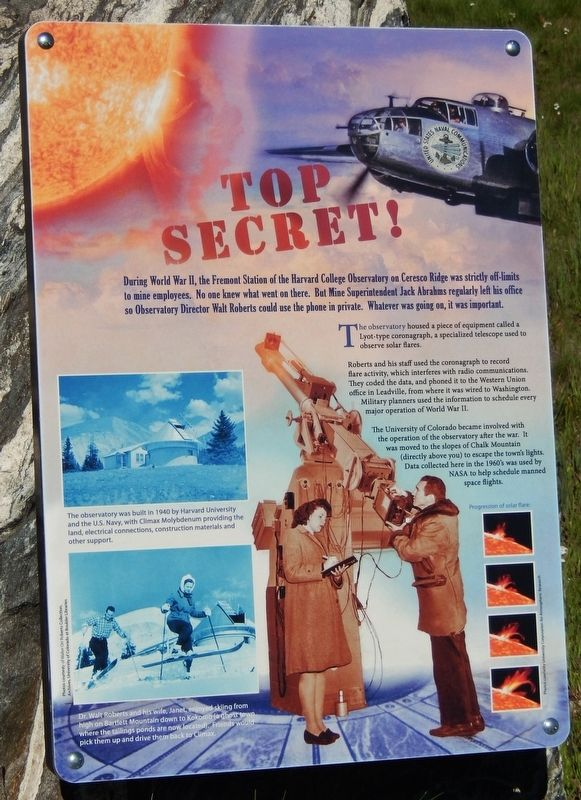 Top Secret Marker image. Click for full size.