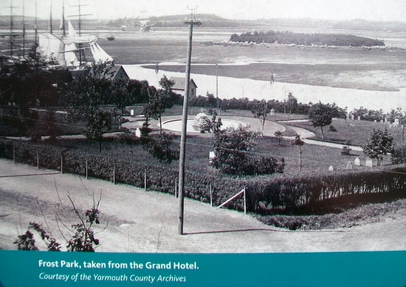 Photo of Frost Park on Marker image. Click for full size.