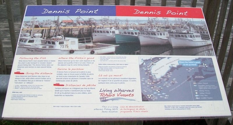 Dennis Point Marker image. Click for full size.