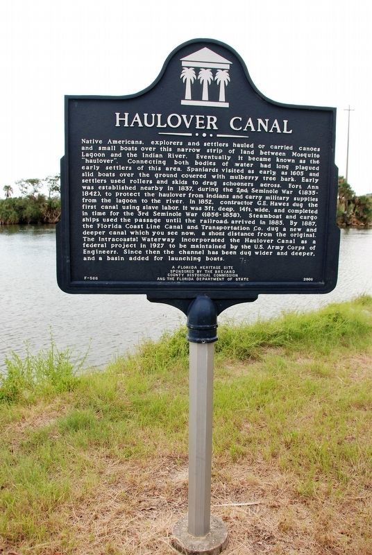 Haulover Canal Marker image. Click for full size.
