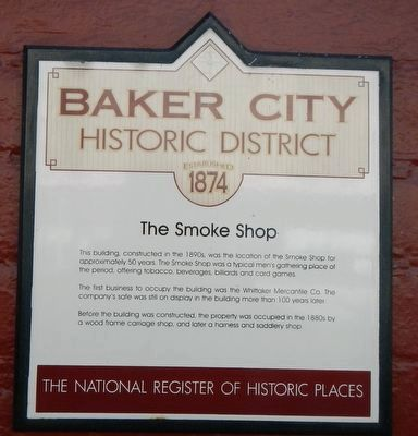 The Smoke Shop Marker image. Click for full size.