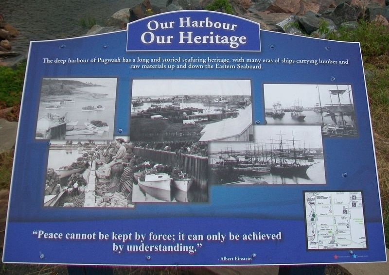 Pugwash Harbour Marker image. Click for full size.