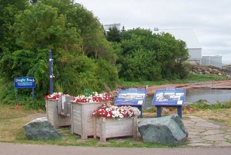 Nova Scotia Clayworks and Pugwash Harbour Markers image. Click for full size.