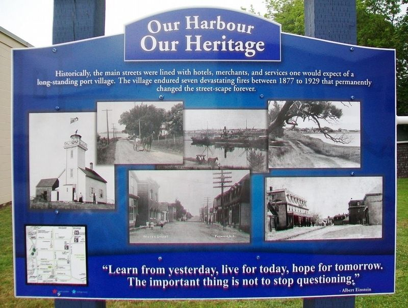 Pugwash Streetscapes Marker image. Click for full size.