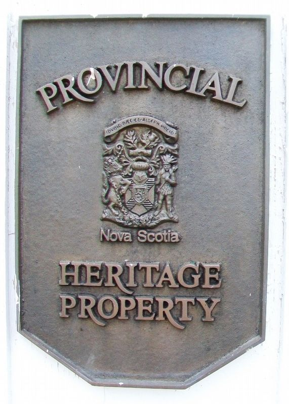 Saint Matthew's Presbyterian Church Provincial Heritage Property Marker image. Click for full size.