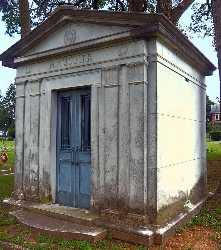 M. P. Möller Tomb<br>In Rose Hill Cemetery image. Click for full size.