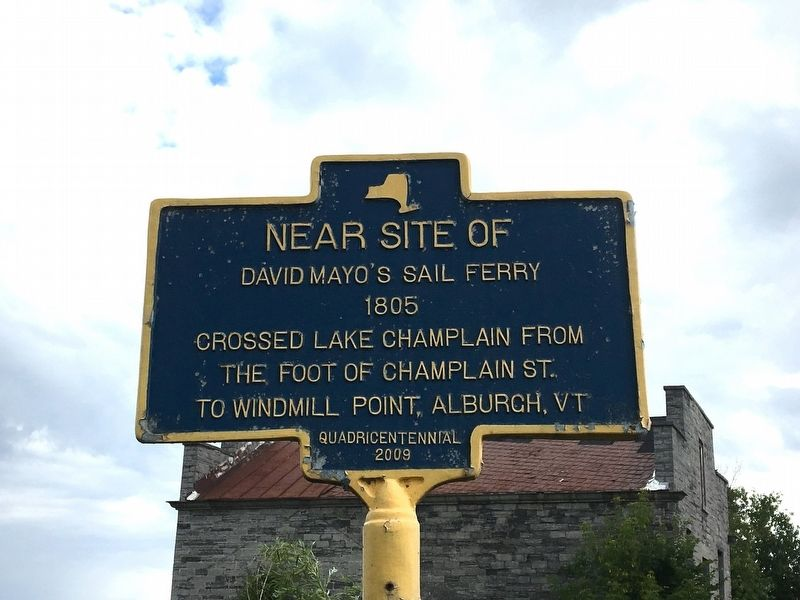 David Mayo's Sail Ferry Marker image. Click for full size.