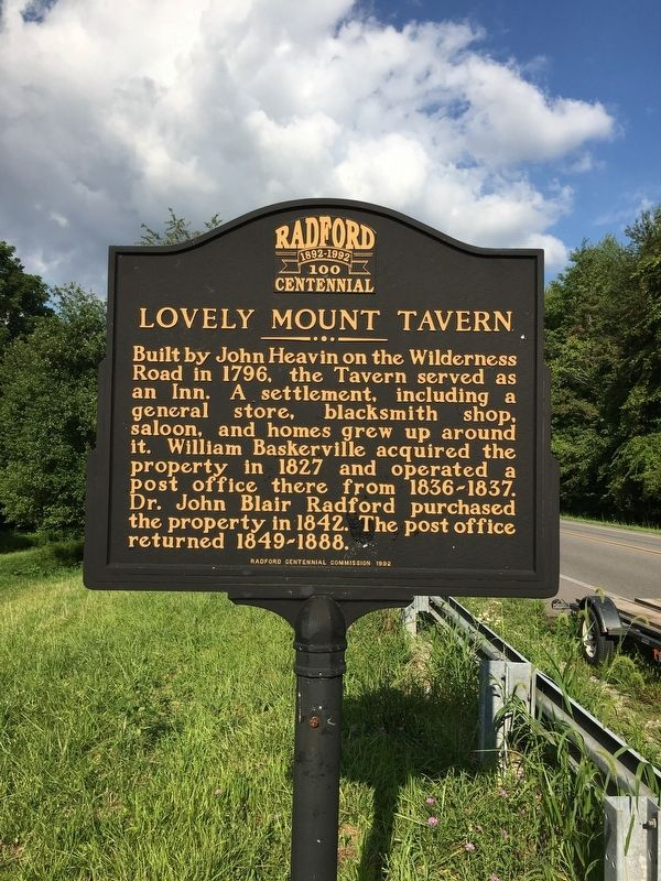 Lovely Mount Tavern Marker image. Click for full size.