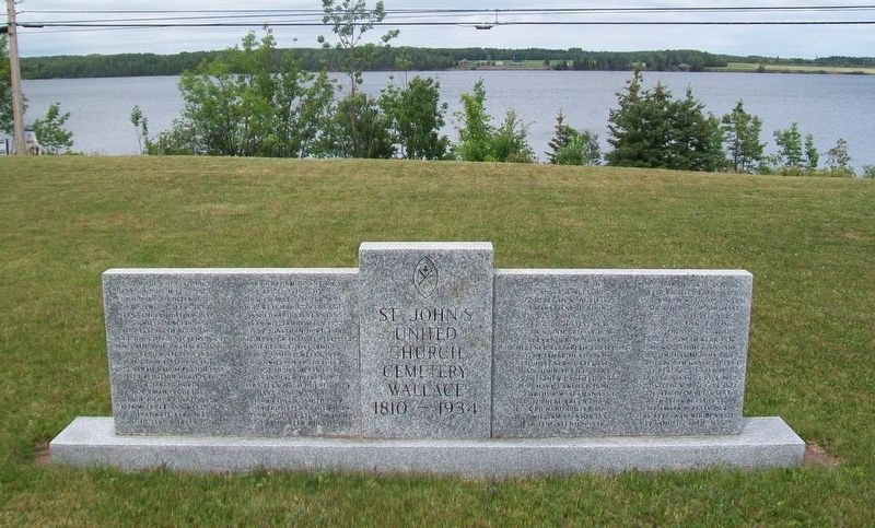 St. John's United Church Cemetery Monument image. Click for full size.