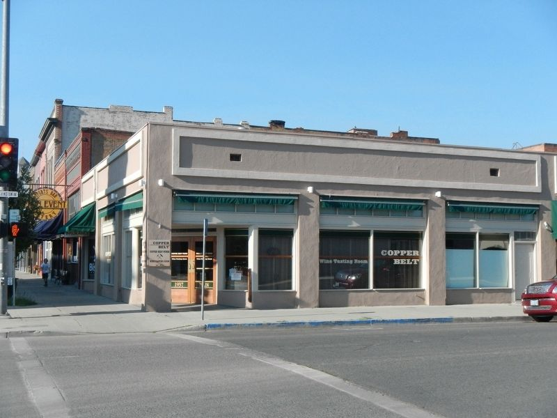 The former Miller's Lunch Building image. Click for full size.