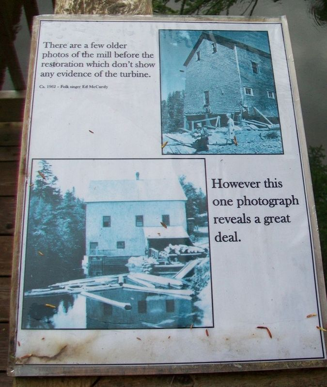 Balmoral Grist Mill Marker 3 image. Click for full size.