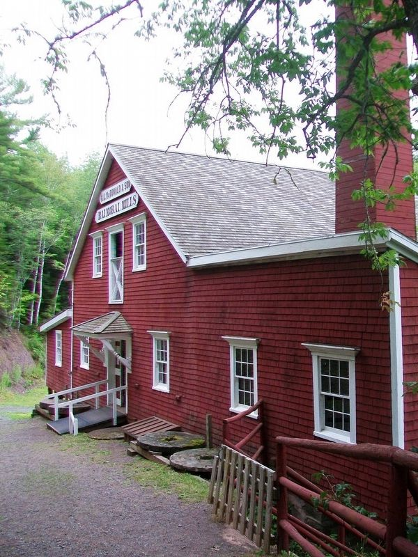 Balmoral Grist Mill image. Click for full size.