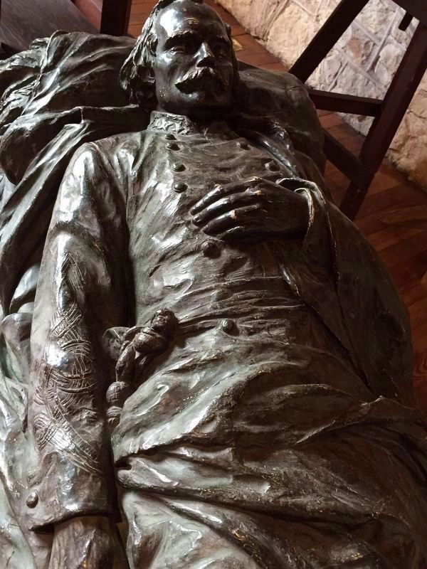 Tomb Effigy of Albert Sidney Johnston image. Click for full size.