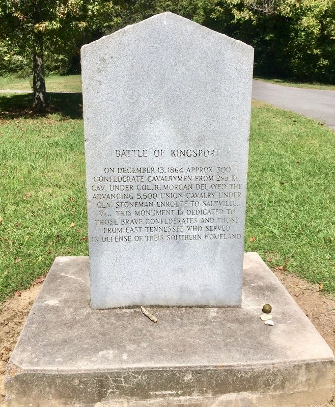 Battle of Kingsport Monument image. Click for full size.