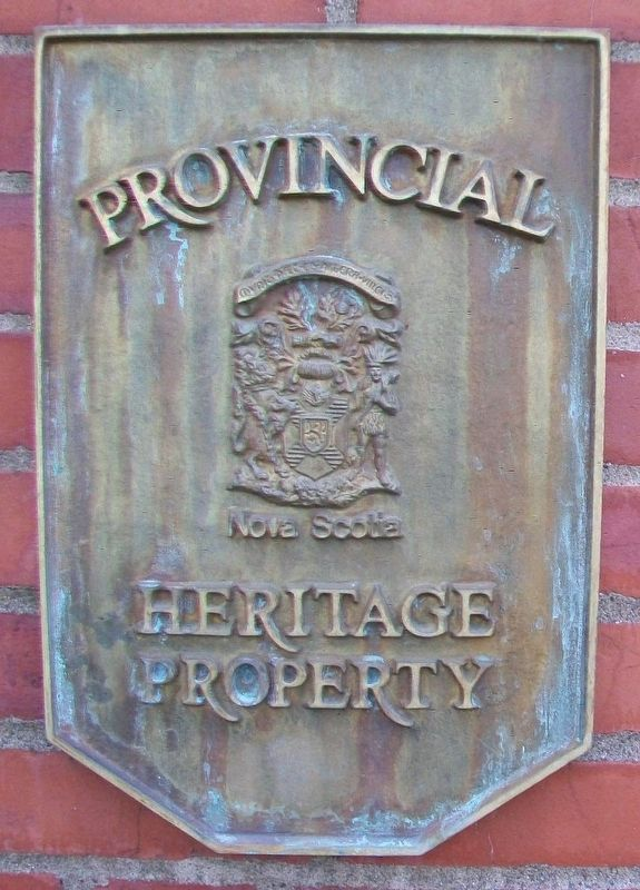 First Presbyterian/United Church Provincial Heritage Marker image. Click for full size.