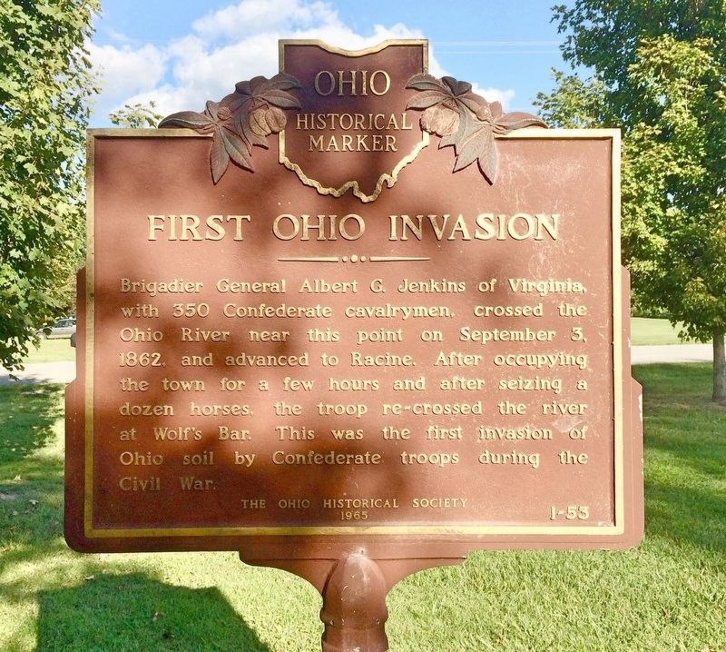 First Ohio Invasion Marker image. Click for full size.