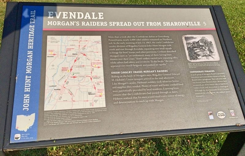 Evendale Marker image. Click for full size.