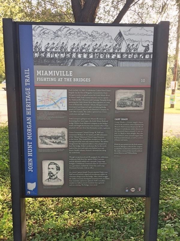 Miamiville Marker image. Click for full size.