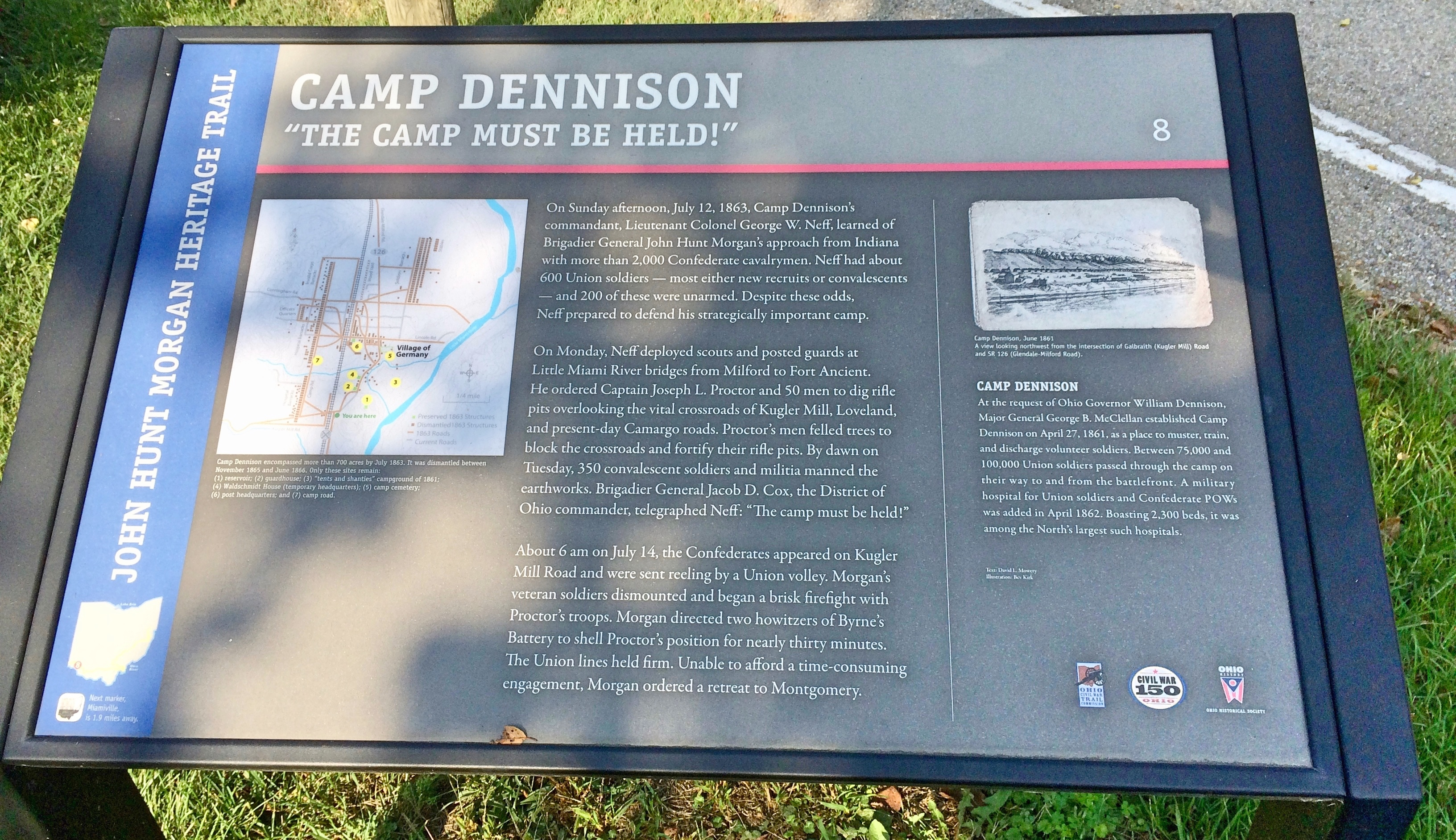 Camp Denison Marker