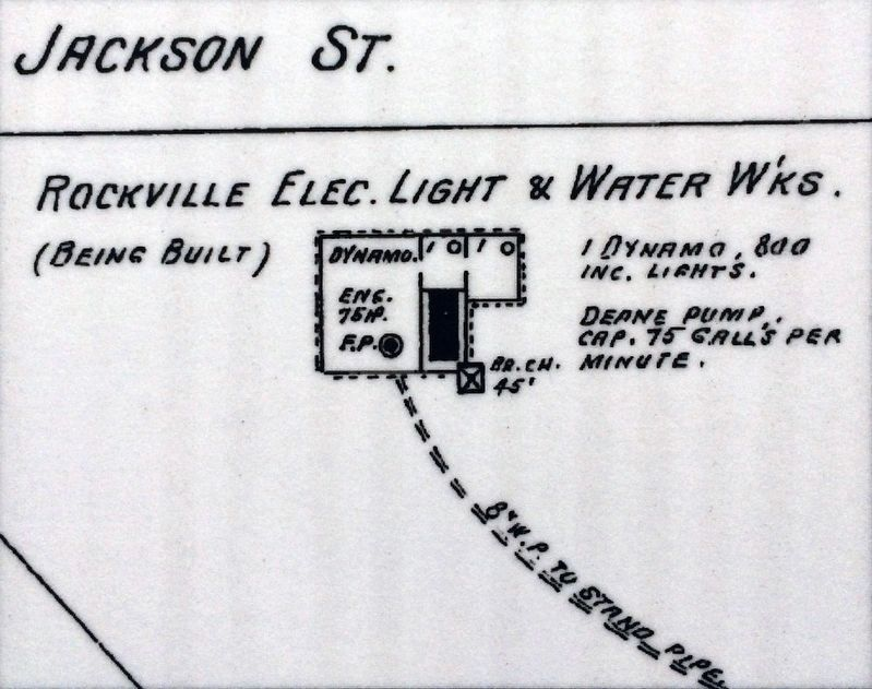 Rockville Electric Light and Water Works image. Click for full size.
