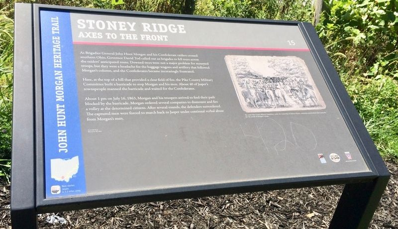 Stoney Ridge Marker image. Click for full size.