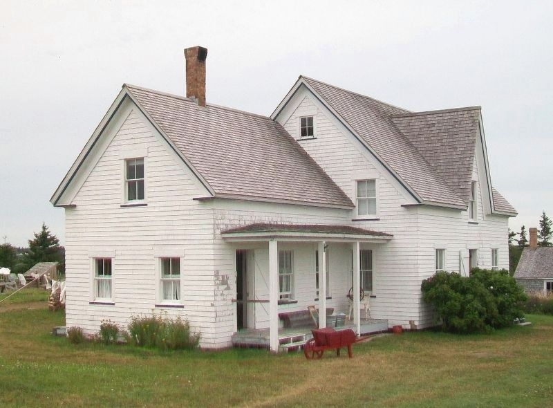 Duon House at The Historic Acadian Village of NS image. Click for full size.