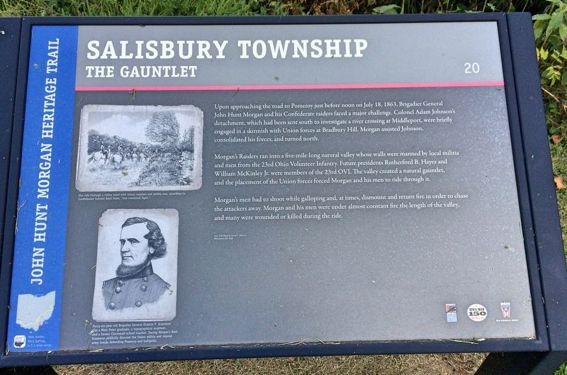 Salisbury Township Marker image. Click for full size.