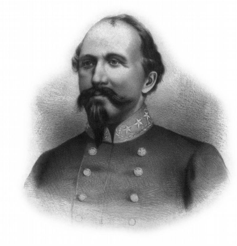General John Hunt Morgan image. Click for full size.