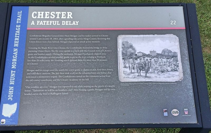 Chester Marker image. Click for full size.