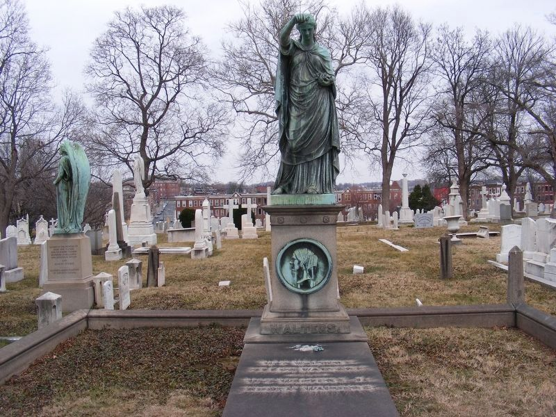 William Walters tombstone image. Click for full size.