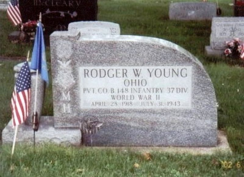 Roger W Young-World War II Congressional Medal of Honor Recipient image. Click for full size.