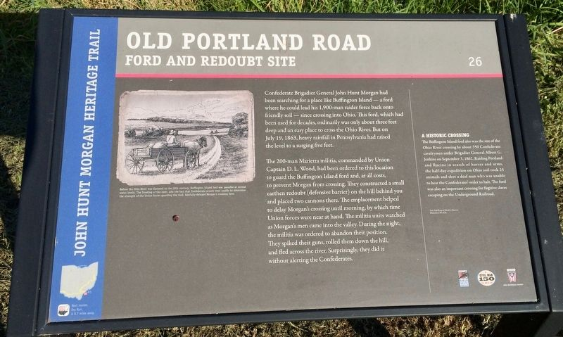 Old Portland Road Marker image. Click for full size.
