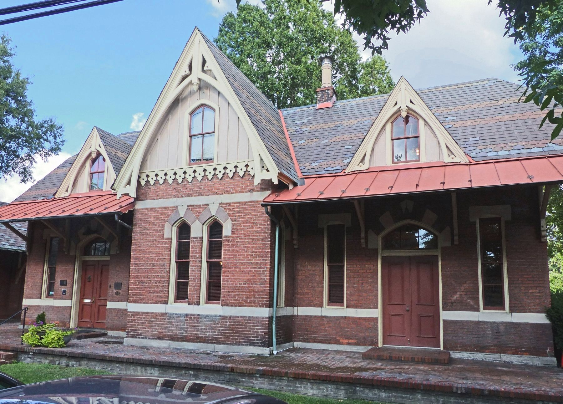 Rockville Railroad Station image. Click for full size.