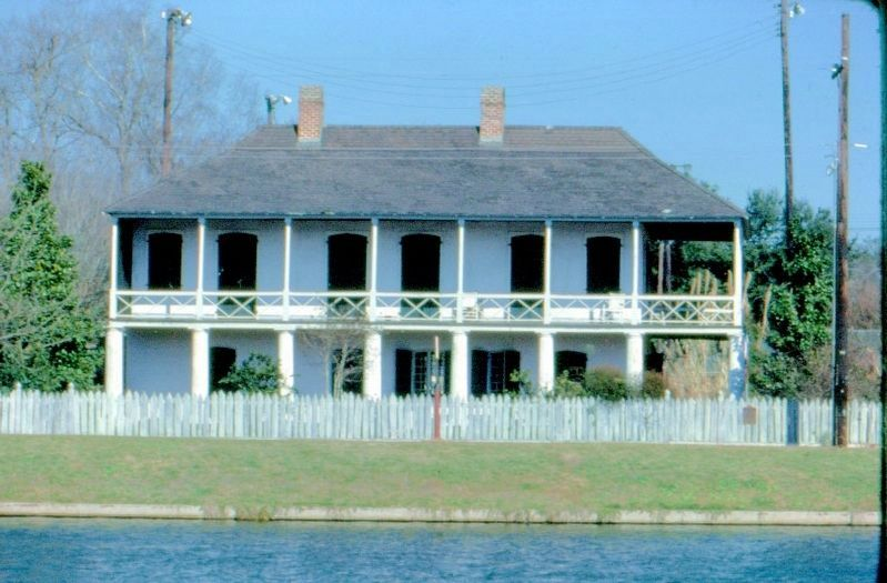 Pitot House in its new location image. Click for full size.